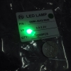 "LED 5mm หลอดขาวขุ่นแสงสี ""เขียวมรกรต"" (100 pcs)"