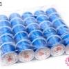 เอ็นยืด สีน้ำเงิน ม้วนใหญ่ (25ม้วน)