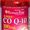 Puritan Co-enzyme Q10 100 mg (USA) 60 Softgels ต้านอนุมูลอิสระ บำรุงผิวขาว ใส เนียน เรียบ