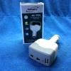 แปลงไฟรถเป็นไฟบ้าน 220 V และ พอร์ต USB