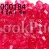 คริสตัลพลาสติก สีชมพู 4 มิล (1ขีด/100กรัม)