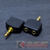 Audio Adaptor TRS3.5 to TRS3.5x2