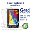 G-Net G-Pad 7.0 Explorer II Android 4.0 ICS