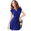 เดรสสีน้ำเงินสไตล์เกาหลี  women dress [ Pre-order]