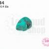 หินเทอร์ควอยส์อัด รูปหนู 10X14มิล(1ชิ้น)