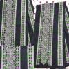 ผ้าปัก ลายเล็ก+ลายใหญ่ สีโทนเขียวม่วง สดใส