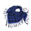 ผ้าพันคอชีมัค Shemagh สีน้ำเงิน