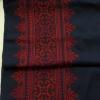 ผ้าปักผืนยาว โทนสีแดง