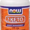 NOW Foods 7-Keto 100 mg 60 VCaps (USA) สุดยอดอาหารเสริม Anti-Aging and Healthy ช่วยชะลอริ้วรอยและการแก่ชรา เสริมสร้างภูมิต้านทาน เพิ่มระบบการเผาผลาญ