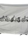 ผ้าคลุมจักรยาน ผ้าคลุมมอเตอร์ไซด์ - สีเทา