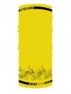 ผ้าบัฟ ผ้าโพกหัว HL002 Cycling Yellow