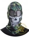 หมวกไอ้โม่งคลุมหัว Tactical Skull Hood - Woodland