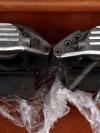 เบรค AP racing หน้า 4 pot หลัง 2 pot จาน 350 mm หลัง 330 มีขาใส่ bmw e39