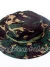 หมวกเดินป่าลายพราง : สีเขียว