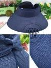 หมวกปีกกว้าง หมวกแฟชั่น กันแดด - Navy