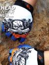 ถุงมือ MT07 - Blue Skull - Free size