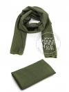 ผ้าพันคอทหาร Military Scarf - Army Green