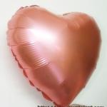 ลูกโป่งฟลอย์รูปหัวใจ สีแดงมุก ไซส์ 18 นิ้ว - Heart Shape Foil Balloon Pearl Red Color / Item No.TL-G015