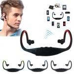 หูฟังไร้สาย Bluetooth แบบอ้อมหลังศีรษะ หูฟัง Bluetooth sport สำหรับออกกำลังกาย