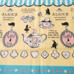 คอตตอนญี่ปุ่น ลาย Alice In Wonderland แนวเทพนิยายโทนสีเหลือง ขายที่ 1/2 เมตรเป็นต้นไป เหมาะสำหรับงานผ้าทุกชนิด ตัด กระโปรง ทำกระเป๋า ปลอกหมอน และอื่นๆ
