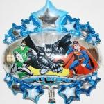 ลูกโป่งฟลอย์ ป้ายรวมซุปเปอร์ฮีโร่ - Super Hero Foil Balloon / Item No. TL-A090