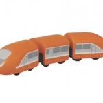 ของเล่นไม้ ของเล่นเด็ก ของเล่นเสริมพัฒนาการ Modern Train รถไฟด่วนโดยสาร (ส่งฟรี)