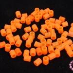 เม็ดบีทรีดร้อน สีส้ม 5 มิล (1ขีด/1,820ชิ้น)