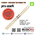 Promark TX5AW - HICKORY 5A WOOD TIP (ของแท้ USA)