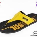 รองเท้าแตะGambol PU แกมโบล พียู รหัส GM31052 สีเหลืองดำ เบอร์ 39-43
