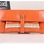 Retro picture-wallet_ส้ม