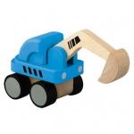 ของเล่นไม้ ของเล่นเด็ก ของเล่นเสริมพัฒนาการ Mini Excavator รถขุด (ส่งฟรี)