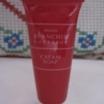 kanebo blanchir cream soap 15 g. (ขนาดทดลอง)