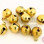 กระดิ่งพม่า ทองเหลือง ปากกลม 8มิล(10ชิ้น)