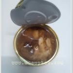 อาหารกระป๋องเปลือยขนาด 70-85 กรัม เนื้อปลาทูน่า-ในน้ำเกรวี่แพค 6 กะป๋อง สำเนา