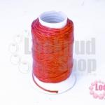 เชือกเทียน ตราลูกบอล(ม้วนเล็ก) สีส้ม (1ม้วน)