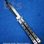 มีดควง (Butterfly Knife หรือ Balisong) Black&White