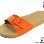 รองเท้าแตะ Monobo Jello โมโนโบ้ รุ่น เจลโล่ สวม สีส้ม เบอร์ 5-8