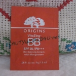 Origins VitaZing™ BB SPF 35 / PA+++ Revitalizing Cream with Mangosteen 1.5 ml. # light warm (ขนาดทดลองแบบซอง)