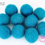 ลูกบอล Feit 20มิล #2 สีฟ้า (5ลูก)