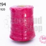 เชือกเทียน ตรากีตาร์(ม้วนใหญ่) สีบานเย็น เบอร์ 2 920 (1ม้วน)