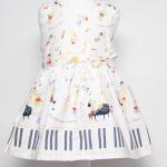เสื้อผ้าเด็ก ชุดเดรส ชุดกระโปรงสำหรับเด็กผู้หญิง Piano Dream (ส่งฟรี)