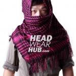 ผ้าพันคอชีมัค : สีชมพู