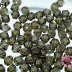 คริสตัลสวารอฟสกี้ (SWAROVSKI)สีสโมกกี้(225) 4มิล(100เม็ด)