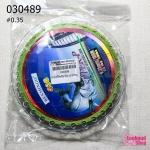 สายหรีดสำหรับร้อยมุก สีเขียว #0.35 (1ม้วน/100M.)