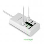 USB Charger 6 Ports/Output อุปกรณ์สำหรับชาร์ทไฟแบบ USB 6 ช่องต่อ