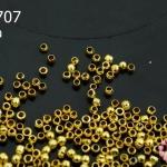 สต๊อปเปอร์ สีทอง ทรงกลม 1มิล (1ถุง/3กรัม)