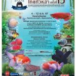 ผลประกวดปลากัด งานประมงน้อมใจไทยทั่วหล้า ครั้งที่13