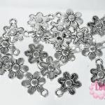 จี้โรเดียม ดอกไม้ 9.5x13มิล