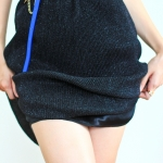 Sparking on You Skirt (black)