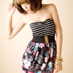 พร้อมส่ง ** Blossom Party Dress